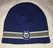 Reebok Indianapolis Colts BeanieNew!! No Tags Blue Gray One Size