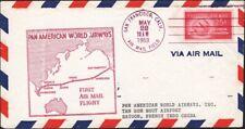 VIETNAM, 1953. Incoming First Flight PAA, San Francisco - Saigon