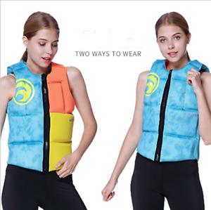 Women's Two Ways To Wear Buoyancy Life Jacket/Vest Boating Floating Rafting Vest