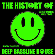 The History Of Deep Bassline House Music CD DJ Mix ibiza Style New House Bass