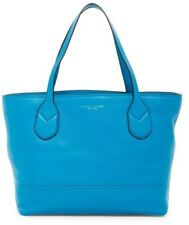 NWT Marc Jacobs Classic Leather Tote Handbag TURQUOISE Blue