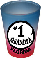 FLORIDA SOUVENIRS SHOT GLASS  COLLECTABLE NOVELTY GIFT FUNNY - #1 GRANDPA