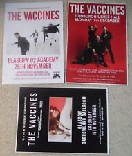 The Vaccines - poster JOB LOT bundle - live music show concert gig tour posters