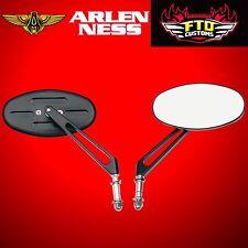 Arlen Ness Drag Specialties Stealth I Black Mirror Standard H-D 84-16 Sold Each