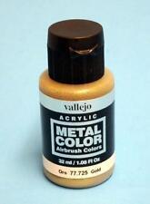 Vallejo Acrylics Metal Color - Gold 32ml VAL 77725