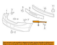 HONDA OEM 12-13 Civic Rear Bumper-Side Support Right 71593TS8A01