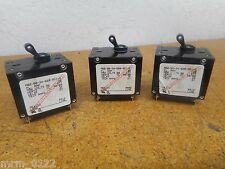 Carling Switch AB2-B0-34-620-5D1-C Circuit Breakers 20A Gently Used (Lot of 3)