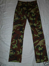"HUGO BOSS CAMOUFLAGE JEANS PANTS  SIZE 30 x 32"" EXCELLENT FROM ITALY.!"