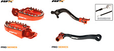 New RFX Brake Gear Pedal Footpegs Kit KTM SXF 250 350 450 16-18 EXC-F 17-18