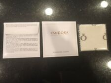 Pandora Bracelet Charm 925 Silver Jewelry Polishing Cloth original mini package