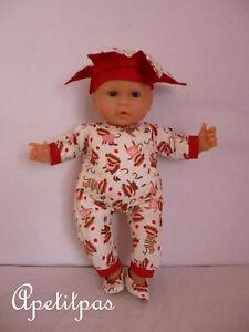 Vêtement poupée EMMA de corolle où poupon corolle corps mou 36 cm