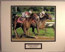 Afleet Express 2010 Travers Saratoga Photo Embedded Label Double Matted