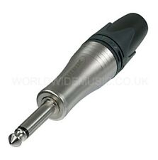 Neutrik NP2XL JUMBO Mono Jack Plug - for large cables 4mm - 10mm diameter