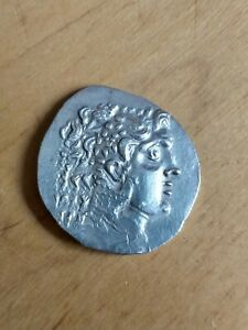 Auténtico Tetradracma Alejandro Magno, Alexander The Great, Great Tetradrachm.