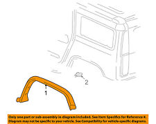 Hummer GM OEM 03-09 H2 Ext-Wheel Well Fender Flare Arch Molding Right 15255715