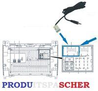 Cable adaptateur auxiliaire mercedes pour autoradio audio 20 audio 50 aux mp3