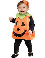 Jolly Jack O'Lantern Infant Pumpkin Tunic Girls Halloween Costume