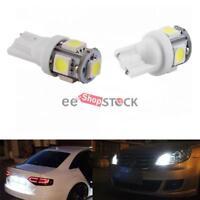 Kit Ampoule led auto T10 W5W veilleuse plaque coffre 5 SMD 5050 Blanc ESS TECH®