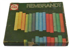 Vintage Rembrandt Soft Pastels by Talens For Artists Partial Set Kit Art Crafts
