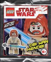 LEGO - Star Wars - Rare - Obi-Wan Kenobi Minifig Foil Pack 911839 - New