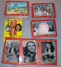 The WIZARD of OZ Complete Trading Card Set  Pacific 1990   Dorothy, Toto, Witch