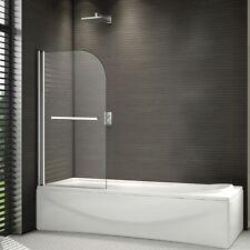 800x1500mm 180°Pivot Over Bath Shower Bath Screen Easyclean Glass Door Panel