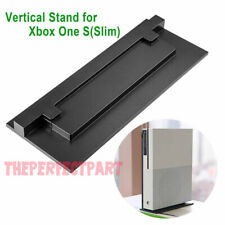 Vertical Stand For Xbox One S (Slim) Console Black Non Slip Mount Easy Install