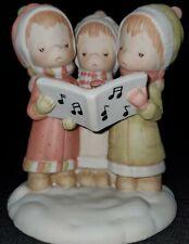 Betsey Clark Sweetest Sound Of Christmas Caroling Singing Friend figure figurine