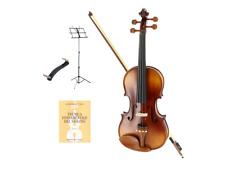 OQAN OV150 Violino 3/4 completo + spalliera + libro + leggio Bundle