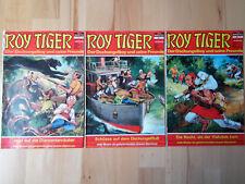 Roy Tiger Nr.40-42 von 1969 - Konvolut 3 Abenteuer Comichefte BASTEI