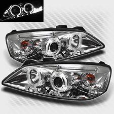 For 2005-2010 Pontiac G6 Dual Halo LED Projector Headlights Pair Head Lights