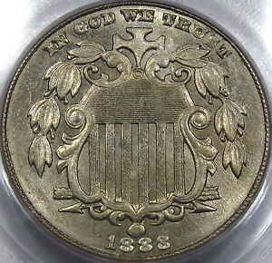 1883 Shield Nickel Choice BU PCGS MS-62...Nice Surfaces, Flashy, & Well Struck!!