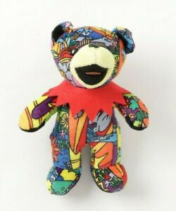 Grateful Dead Exclusive BEAN BEAR Anthem of the Sun Plush Doll Stuffed Toy JP