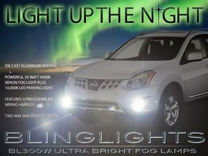 Xenon Niebla Lámparas Luces Kit Drivinglights Para 2011 2012 2013 Nissan Rogue