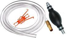 Plumber's Siphon hand pump for Water, Gas, Gasoline Diesel, Aquarium, Pool, Spa