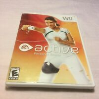 EA Sports Active: Personal Trainer (Nintendo Wii, 2009) Complete Free Shipping