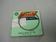 Yamaha NOS YZ100, 1977, Piston Ring STD, for J4 piston, # 1G9-11611-00-00   d-22