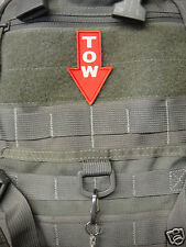ill Gear TOW  HOOK & LOOP Patch EMS/Backpacks/Jackets/Military/Paramedic/Army