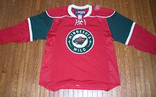 Minnesota Wild Authentic Red Jersey - Reebok Edge 1.0 7187 Canada - NHL Hockey