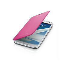 OEM NEW Samsung EFC-1J9FPEGSTA Pink Protective Flip Cover/Case Galaxy Note 2