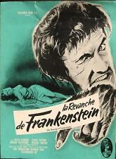 REVENGE OF FRANKENSTEIN 1958 HAMMER Peter Cushing / Terence Fisher FRENCH PBK
