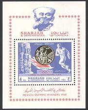Sharjah 1968 Juegos Olímpicos/Deportes/olimpiadas/medalla de oro/disco Lanzamiento M/S n40602