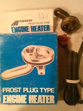 Master Frost Plug Engine Heater Model # 121 Great for winter start engine faster