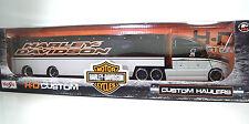 MAISTO 11516 Harley-Davidson HAULERS B/G METAL Scala 1:64