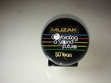 Muzak - Celebrating a Sound Future (50 Years) Acrylic Plastic Paperweight