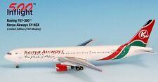 INFLIGHT 500 KENYA AIRWAYS 767-300 1:500 SCALE DIECAST METAL MODEL