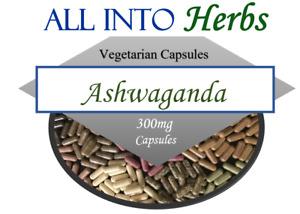 Ashwaganda Certified Organic Vegetarian Capsules QTY 120