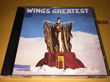 WINGS (Paul McCartney) GREATEST hits CD my love JET let me in LIVE AND LET DIE