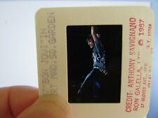 More details for original press photo slide negative - bon jovi - jon bon jovi - 1987 - g