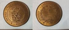 Rare 1889 Luxembourg Essai Pattern 10 Centimes- BU